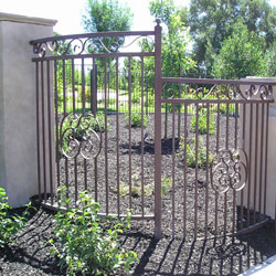 Wrought Iron Fence Long Beach CA