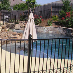 Iron Pool Fencing Long Beach